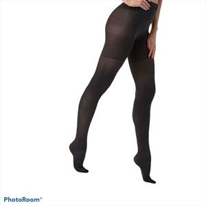 SPANX Tight-End High Waisted Black Tights, Size G